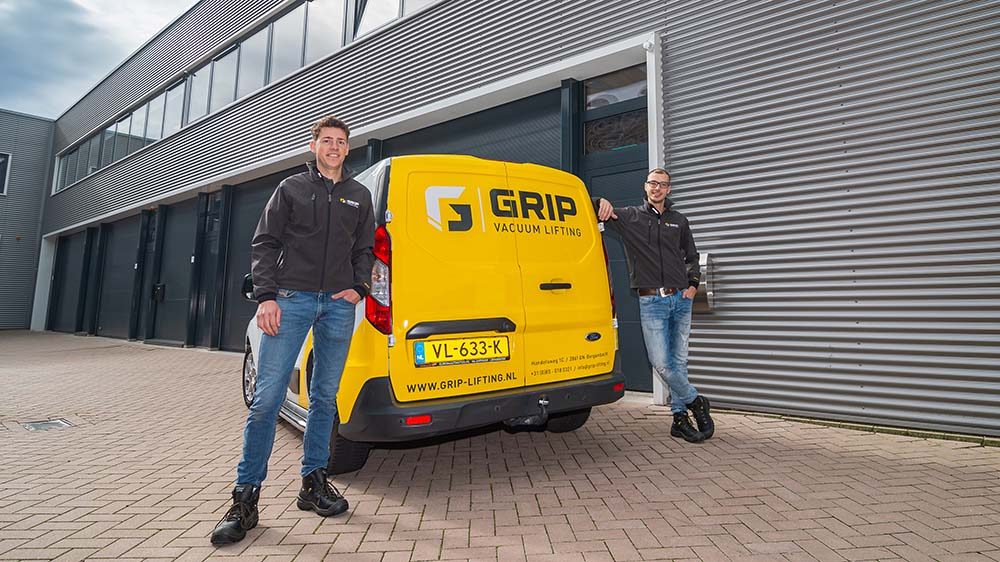 Grip lifting equipment Rik en Martijn
